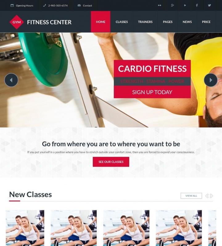 GYM Fix Plus Spor Salonu Web Sitesi 1
